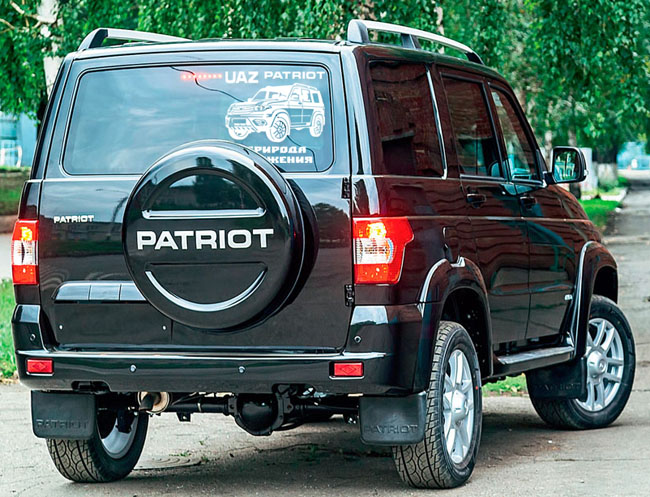 UAZ Patriot Russian off-road