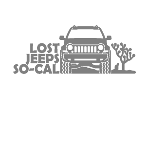 Наклейка Lost jeeps so-cal