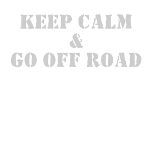 Наклейка Keep calm and go off road